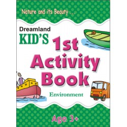 Kid's Activity Books: 1st Activity Book Enviornment