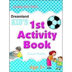 Kid's Activity Books: 1st Activity Book Good Habits