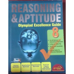 Reasoning & Aptitude Olympiad Excellence Guide - Class 8