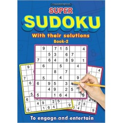 Super Sudoku with Solutions Book - 2